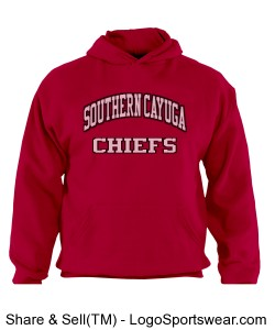 SOUTHERN CAYUGA HOODIE Design Zoom
